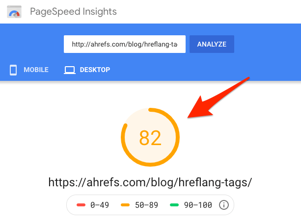 insights do pagespeed 1