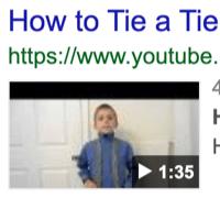 incongruent how to tie a tie 1