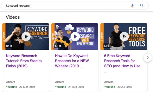 keyword research video carousel 1