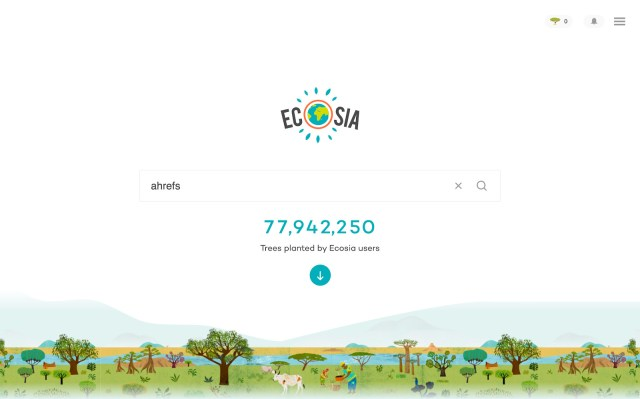 Ecosia alternative Search Engine