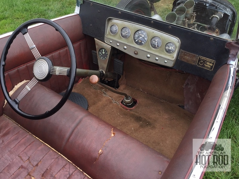Isky's Roadster Interior