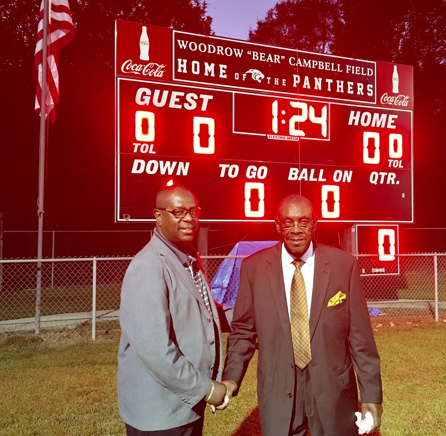 Marengo HS Field Renamed