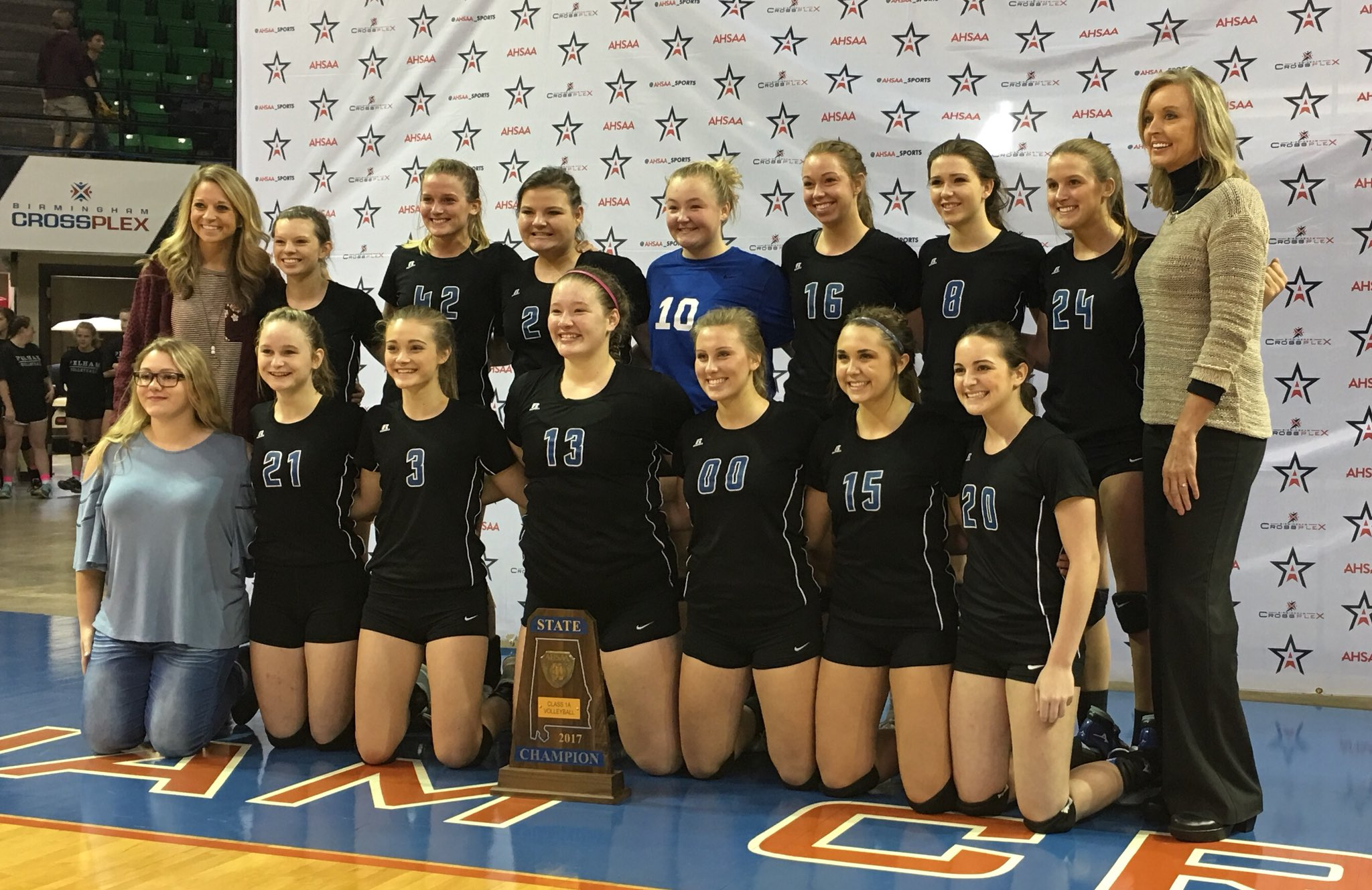 1A Volleyball CHAMPS