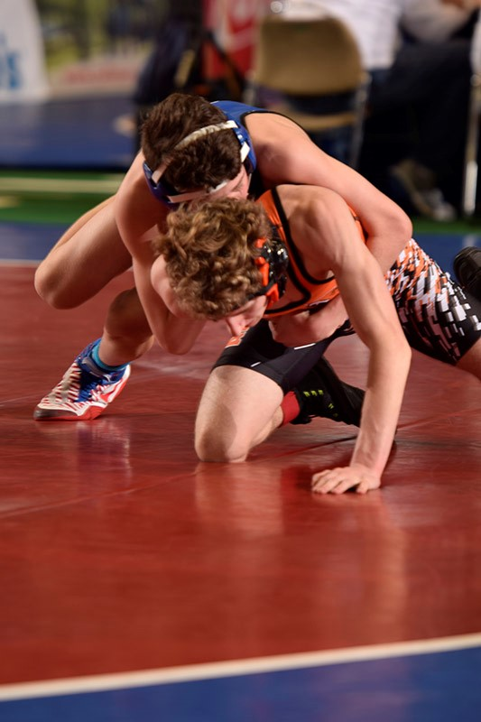 Defending Champs Oxford, Arab Lead the Pack After Day 1 of AHSAA State Wrestling Tournament