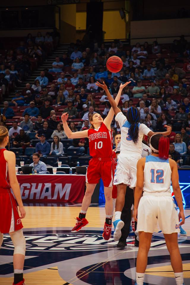 CLASS 3A GIRLS' SEMIFINALS PISGAH 76, Midfield 74
