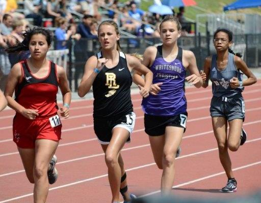 Defending Champs Shine in First Day at AHSAA Class 1A/2A/3A Track Championships Friday