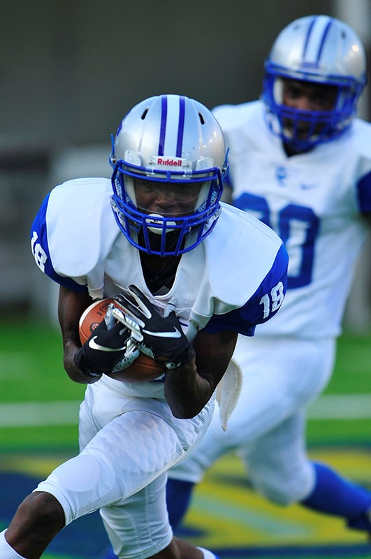 Clarke County Downs Sweet Water 20-14 in Champions Challenge Opener at Cramton Bowl