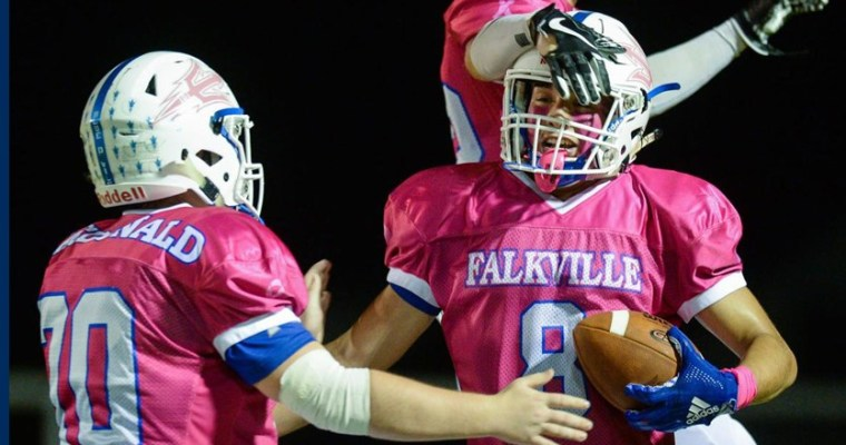 Dove Passes for 503 Yards and 8 TDs as Falkville Wins On and Off the Field in Kick Cancer Game