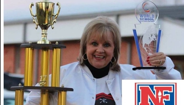 Winfield High School's Sandra Seals Selected 2017-18 NFHS National Spirit Coach of the Year