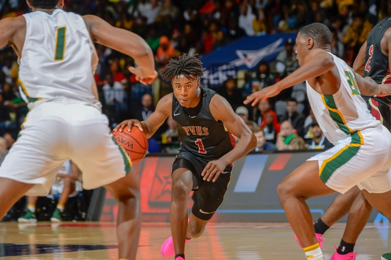 CLASS 6A BOYS' STATE CHAMPIONSHIP  Pinson Valley 58, Carver-Montgomery 44