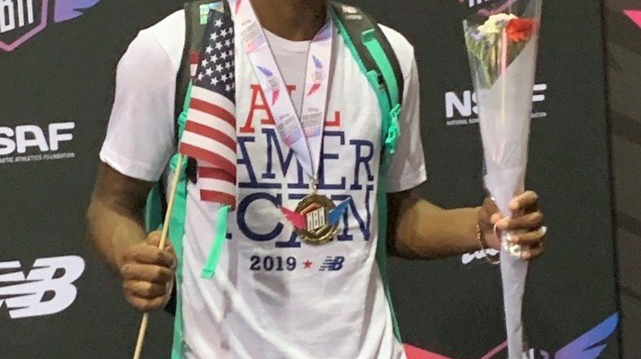 Oak Mountain's Trey Allen Soars to National High Jump Title at NYC