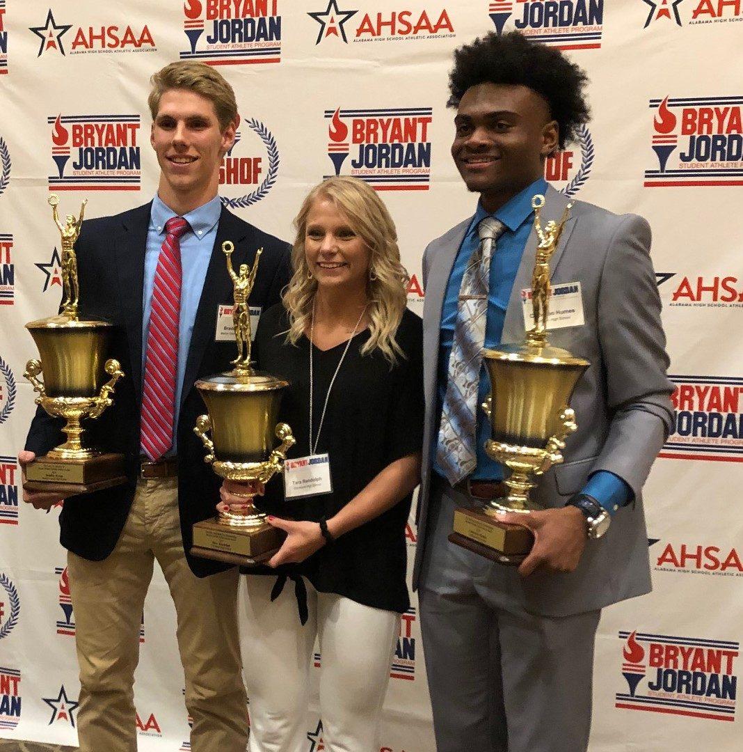 Braden Pyron, Cameron Humes and Tara Randolph Named 2019 Bryant-Jordan Winners