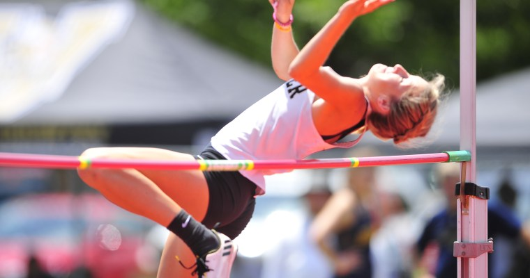 Woodlawn's Breanna Brown Topples AHSAA State Girls High Jump Record in First Day's State Meet at Gulf Shores