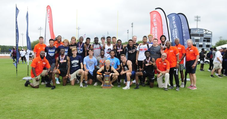 Hoover Claims Class 7A Boys Track Crown for Third Year in a Row