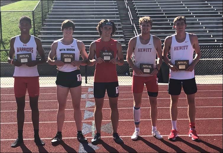 Hewitt-Trussville's Stone Shelnutt, Caleb Long Finish 1-2 in Decathlon