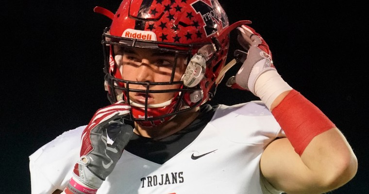 Muscle Shoals Linebacker Jackson Bratton, Trojans Defense Deliver Win over Hartselle