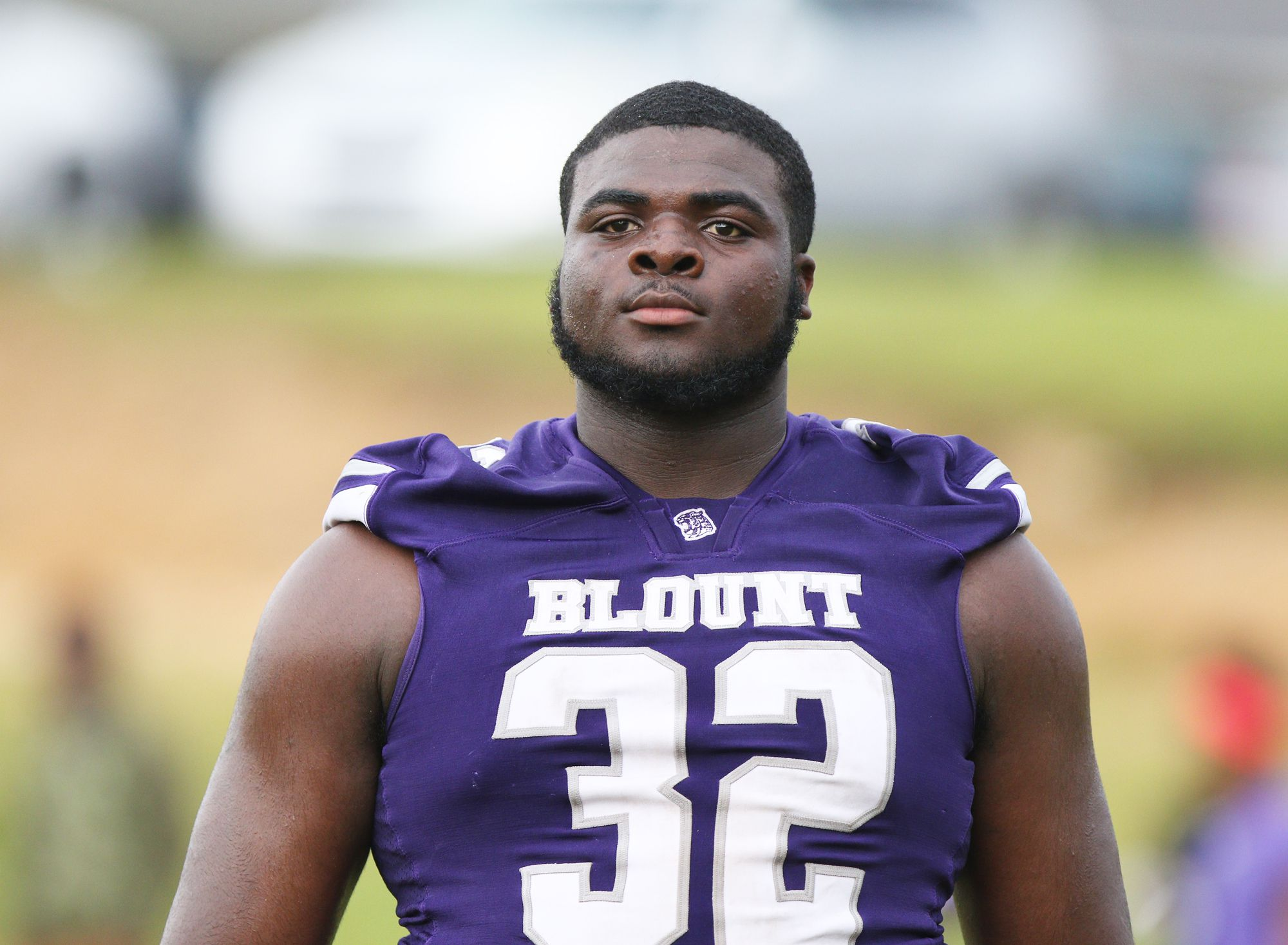 Defensive Tackle Lee Hunter Rules Defensive Front to Lead Blount to Third Straight Win