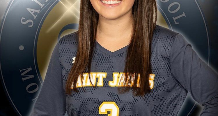 Saint James Senior Lucy Edwards Sets AHSAA Match Record with 27 Aces in Win over Valley