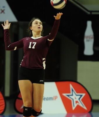 AHSAA 49th Elite Eight State Volleyball Championships CLASS 1A FINALS Donoho 3, Westminster-Oak Mountain 2