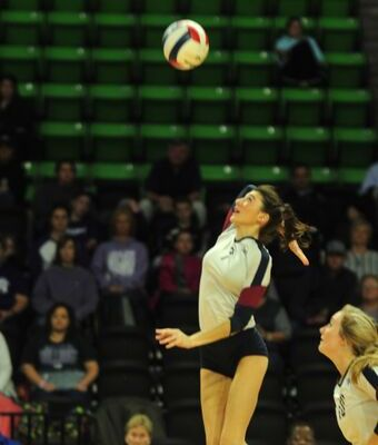 AHSAA 49th Elite Eight State Volleyball Championships CLASS 3A FINALS Montgomery Academy 3, Geraldine 0