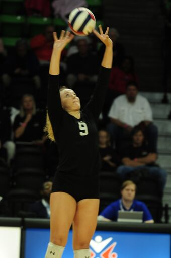 AHSAA 49th Elite Eight State Volleyball Championships CLASS 6A FINALS Spanish Fort 3, Hazel Green 1
