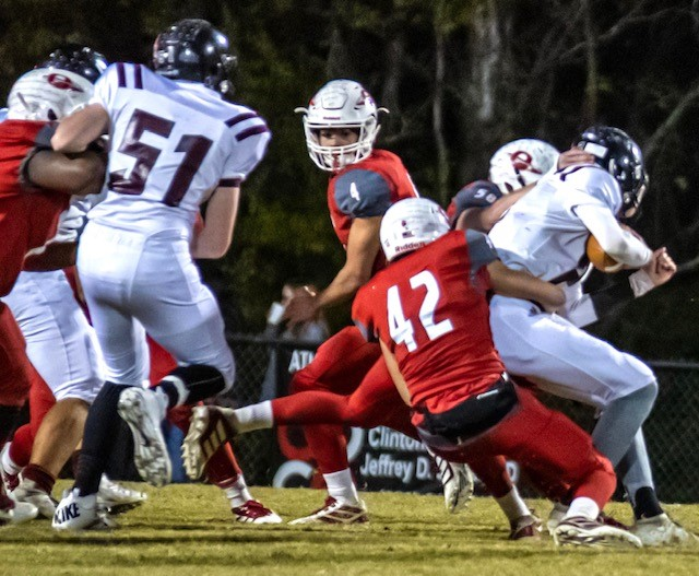 Calhoun County Flexes its Muscle as 'Mighty Eight' go 8-0 in First Round of the Playoffs