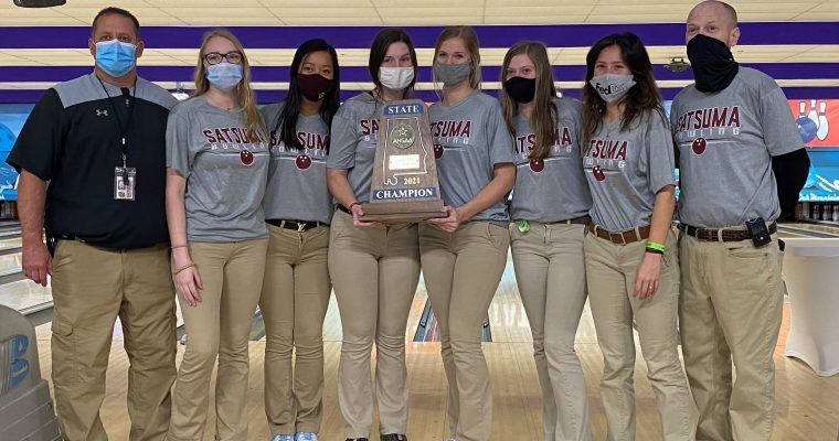 Satsuma Claims AHSAA Girls' 1A/5A State Bowling Crown Topping Corner in the Finals