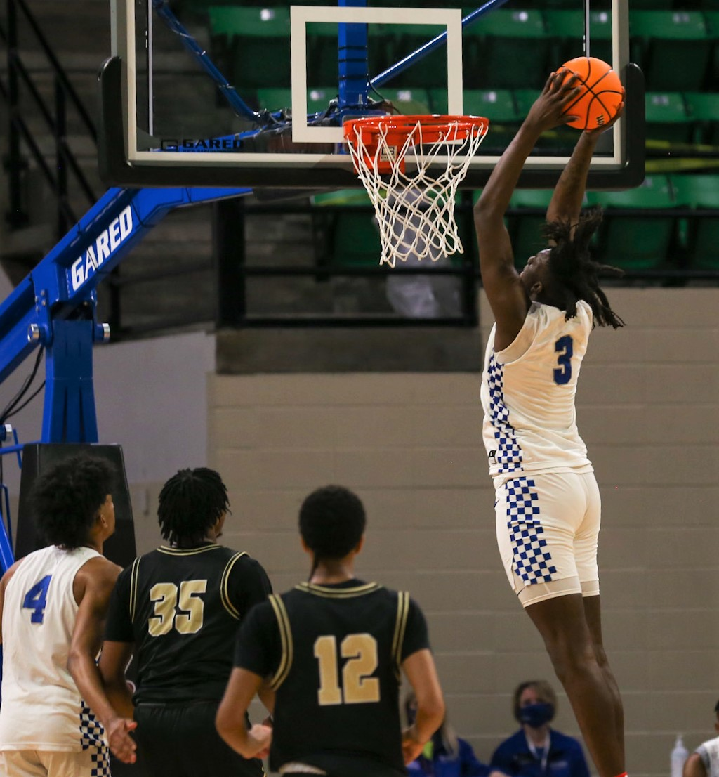 Class 5A Boys' Semifinal: Ramsay 58, Sipsey Valley 40