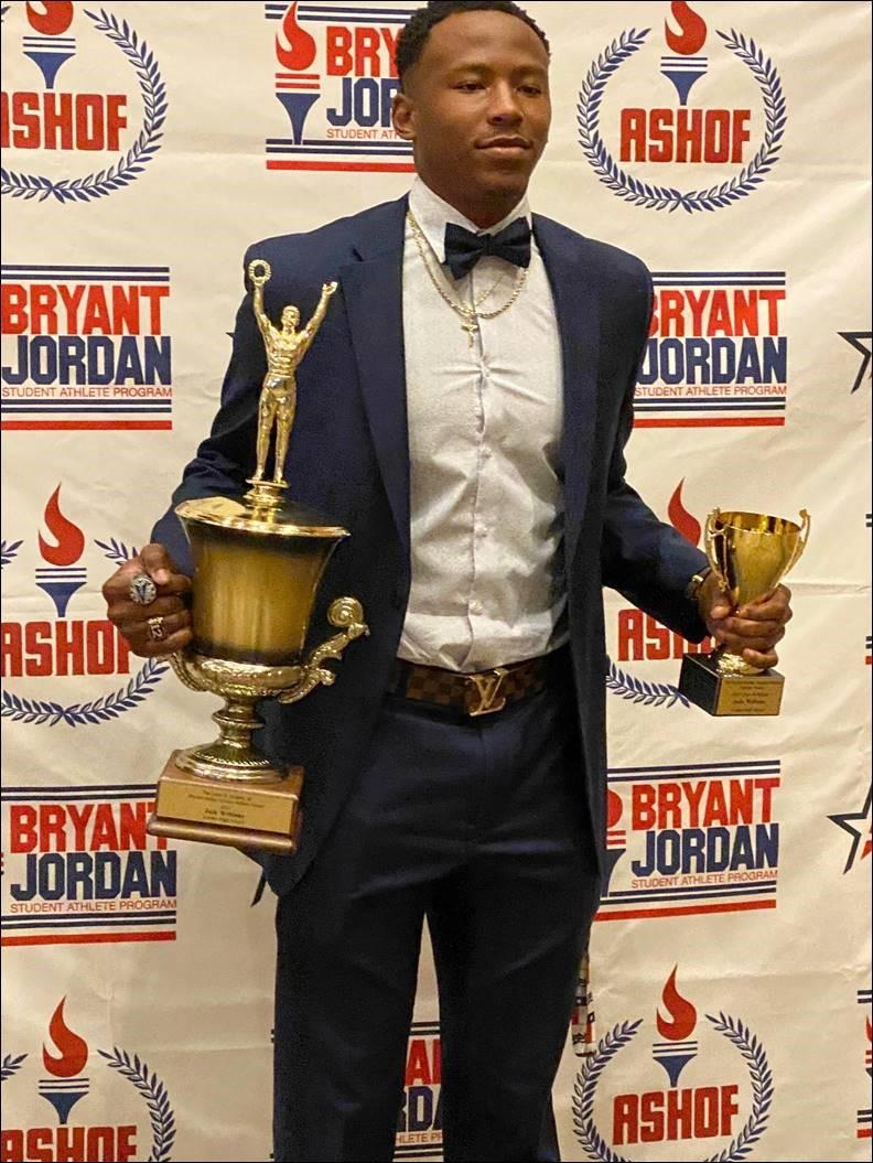 Linden's Josh Williams, Sulligent's John Corbell  Capture 2021 Bryant-Jordan State Awards