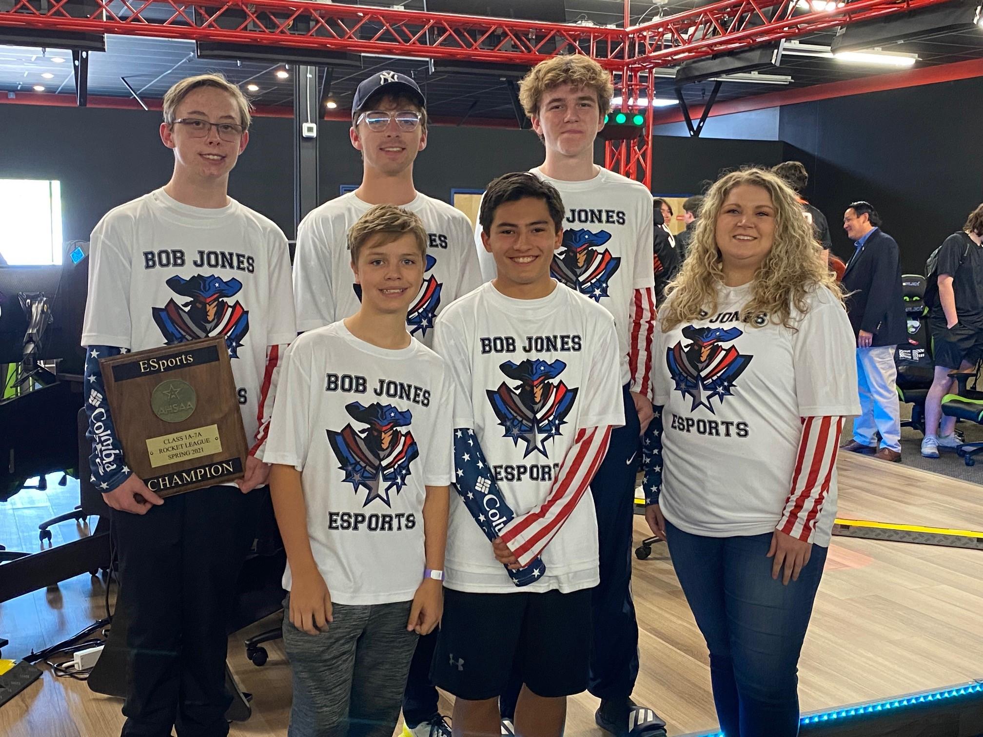 Thompson, Bob Jones Claim Championships at AHSAA E-Sports State Competition at E-Plex