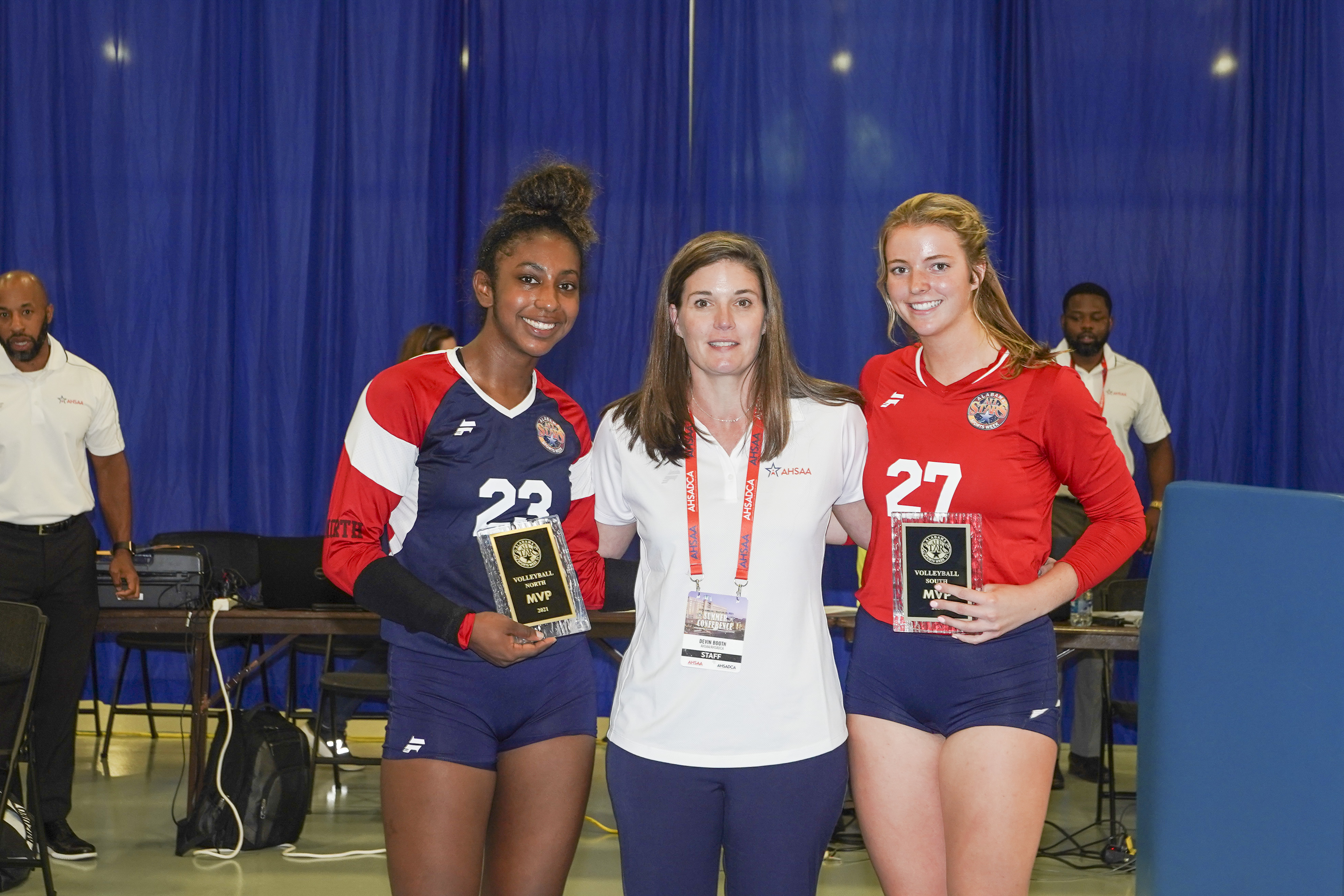 South Sweeps North in All-Star Volleyball 3-0