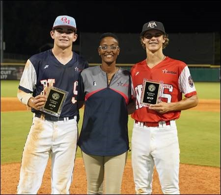 South Wins Opener 7-6 and Second Game Ends in 3-3 Tie as North-South Baseball Kicks off All-Star Week