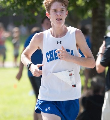 Chelsea's Miles Brush continues stellar season with Fastest Time