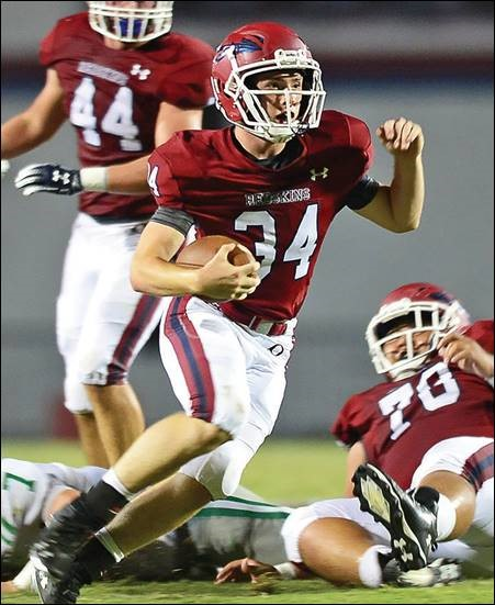 AHSAA Football Spotlight for Week 7: Oneonta's Collin Moon Leads Redskins to Milestone Win No. 700