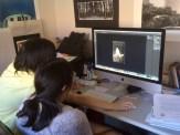 AHS digital art class