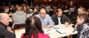 Public forum participants