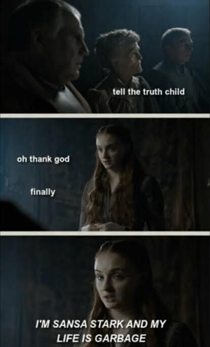 Sansa Stark Memes : sansa, stark, memes, Funny, Sansa, Stark, Memes, AhSeeit