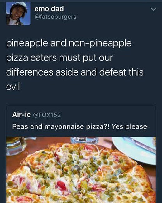 Pineapple On Pizza Meme : pineapple, pizza, Pineapple, Non-pineapple, Pizza, Eaters, AhSeeit