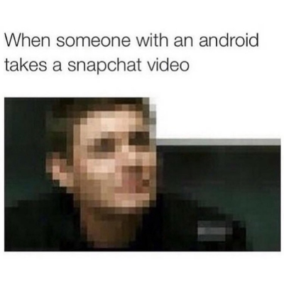 cries in android meme