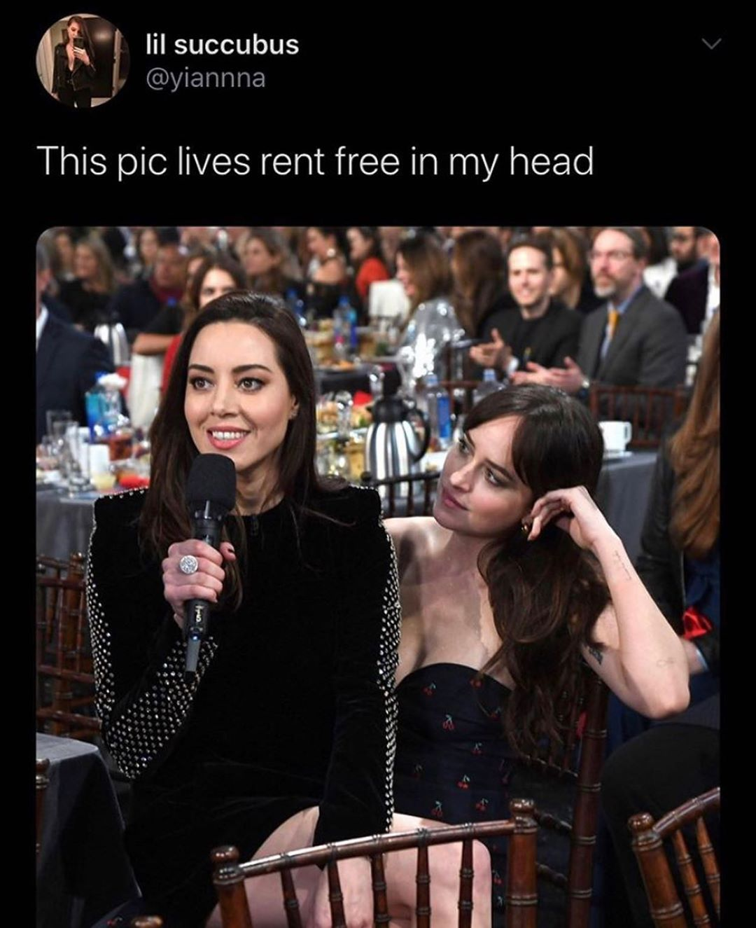 Living rent free in someone's head - post - Imgur