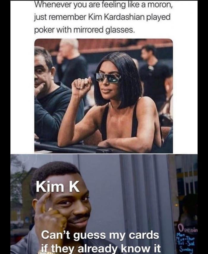 Kim Kardashian You Know How I Feel : kardashian, Whenever, Feeling, Moron, Remember, Kardashian, AhSeeit
