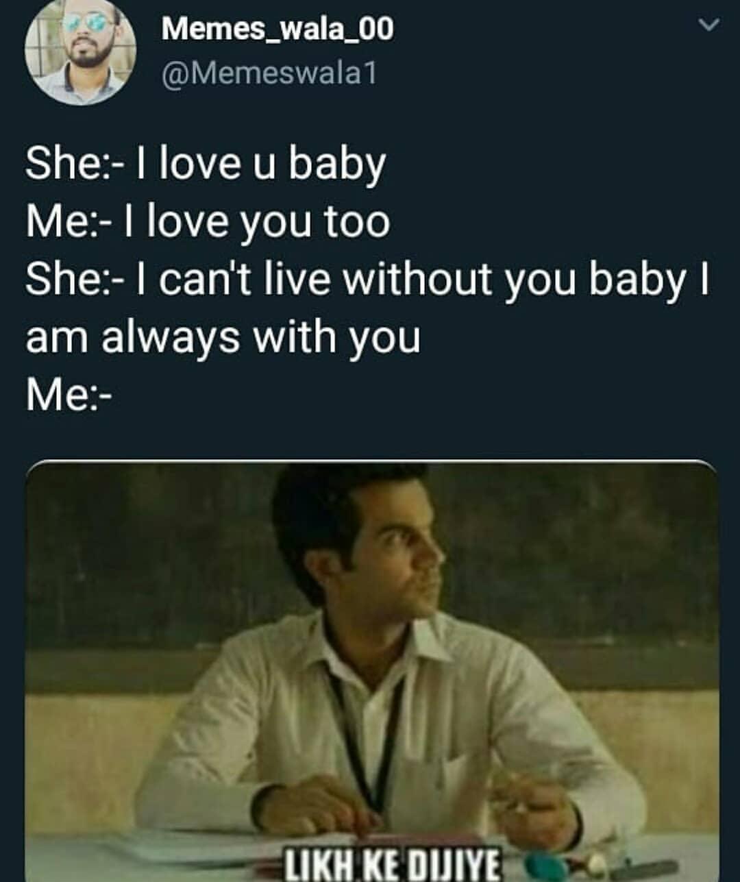 she i love you