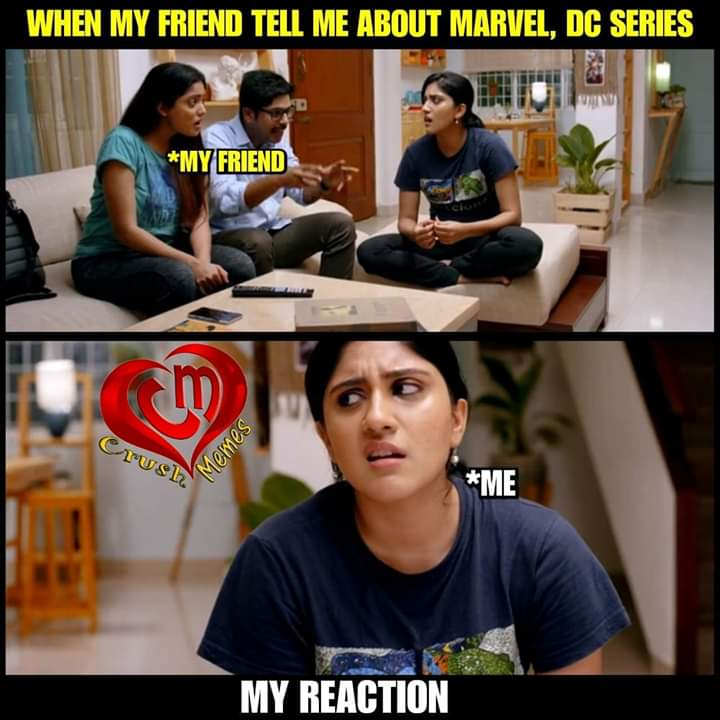 marvel and dc series