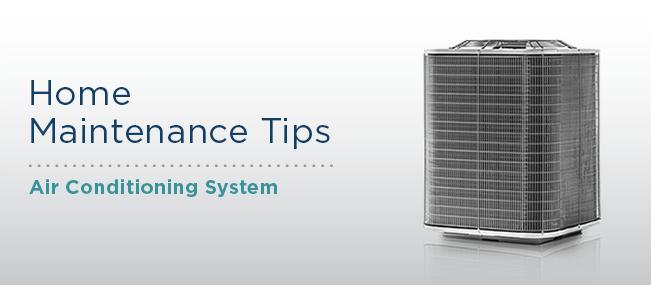 A/C Maintenance Tips
