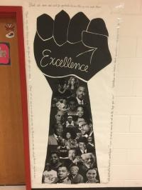 The Revolution : Black History Month Door Decorations
