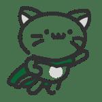Pictogrames du héros de la micro-crèche : un chat z'ailé !