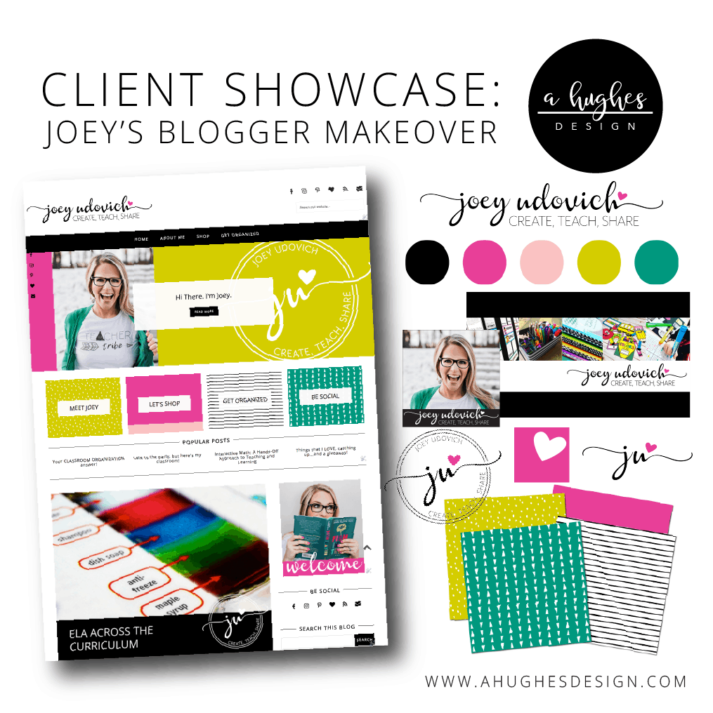 Client Showcase_Joey's Blogger Makeover