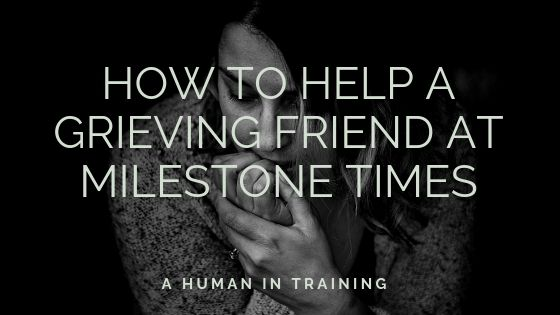 grieving person that is thinking how others can know how to help a grieving friend
