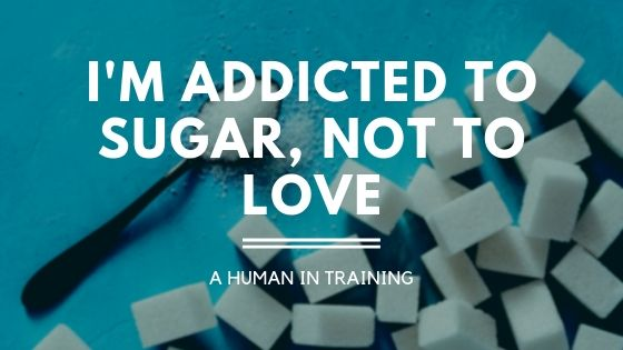 sugar cubes and a sugar spoon for those addicted to sugar