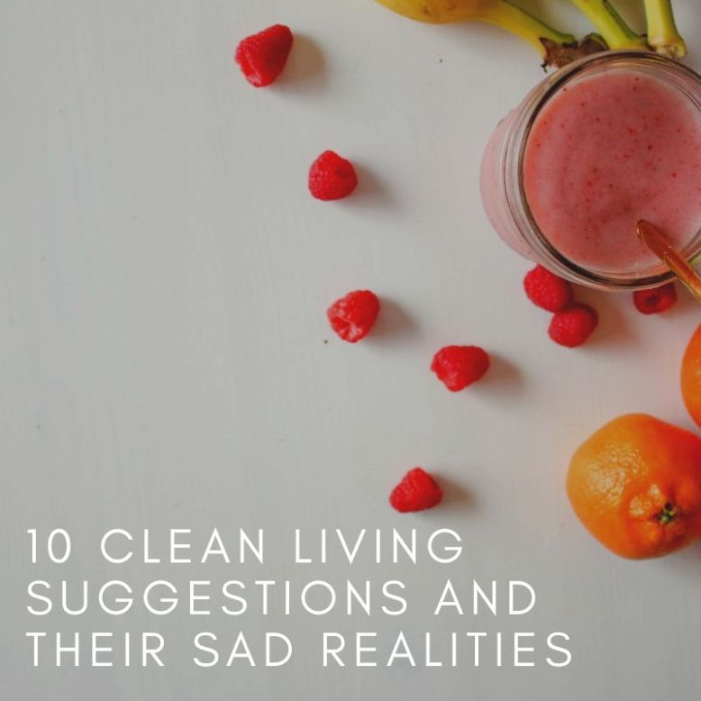 fruit and smoothie clean living suggestions